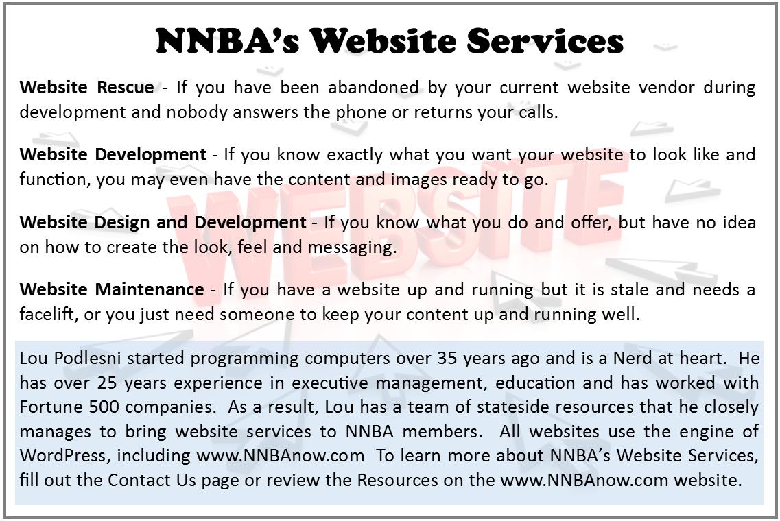 NNBA Website Services
