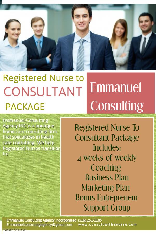 nurse consultant business plan